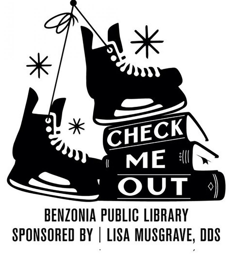 Benzonia Public Library Benzonia Ice Rink free skate rental program Benzie County Michigan Dr. Lisa Musgrave DDS Beulah Dentist The Betsie Current Meredith McNabb Bayside Printing Inc Frankfort