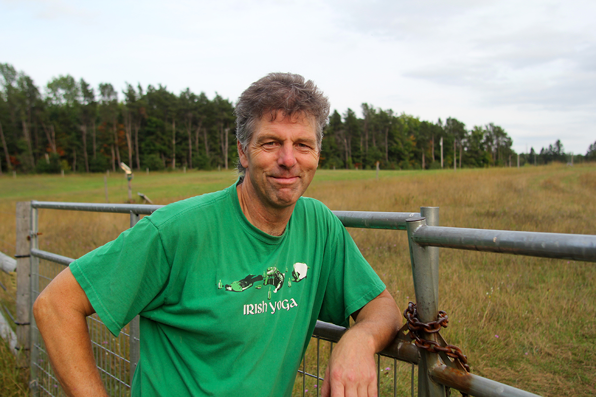For five years, Paul May has leased land for his animals on Lobb Road. Photo by Aubrey Ann Parker.