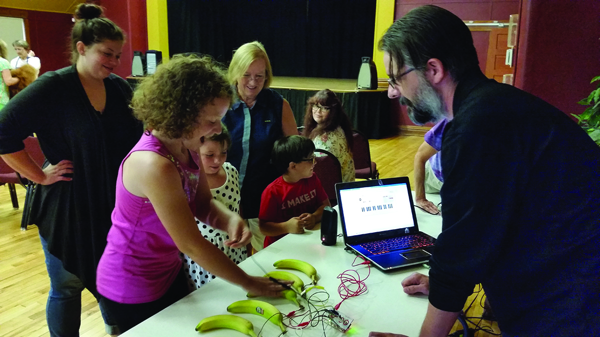 Maker Movement Comes to Benzie