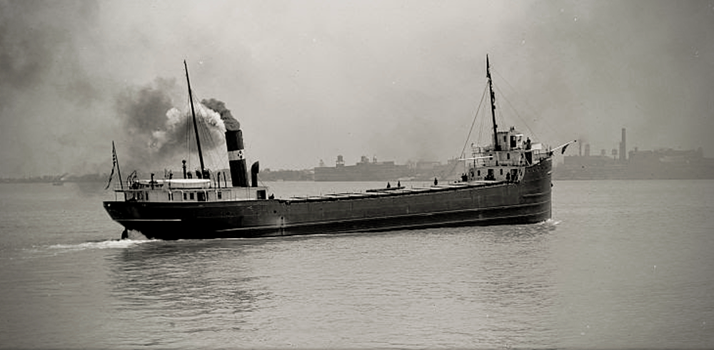 Adrian Iselin ship library of congress Jed Jaworski a tale of two ships the betsie current newspaper luedtke marine engineering Frankfort Michigan Betsie Bay