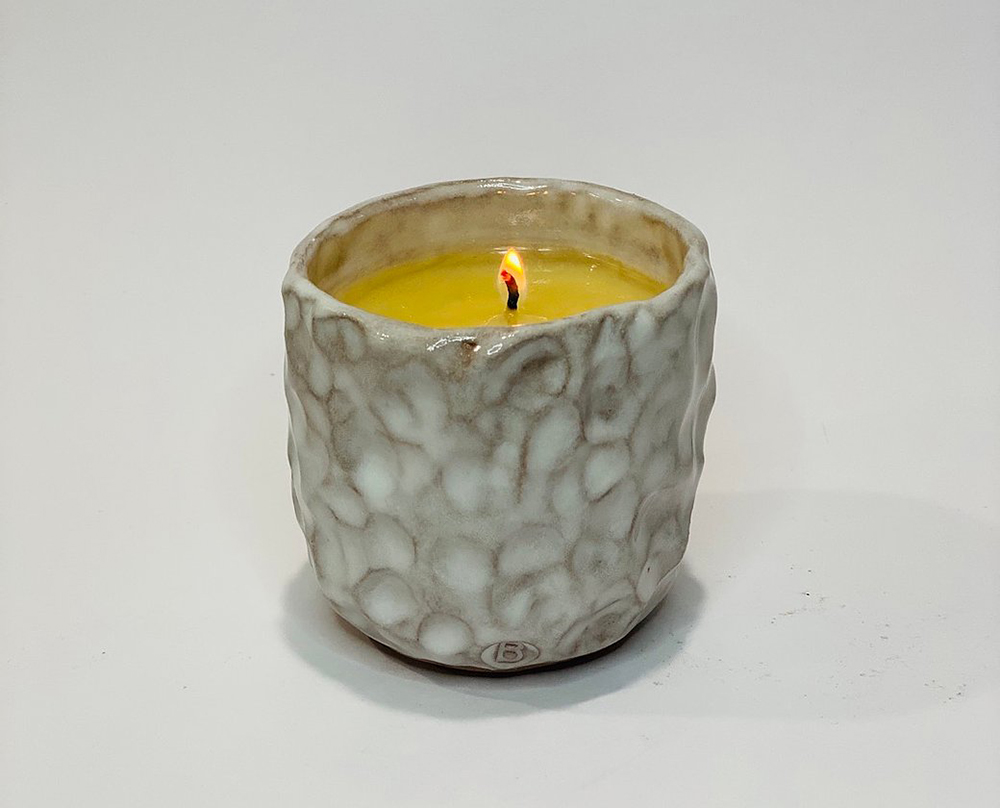 5:14 Candles LLC Corey Bechler pottery ceramics Interlochen Michigan Emily Pangborn The Betsie Current michigan soy wax candles homemade