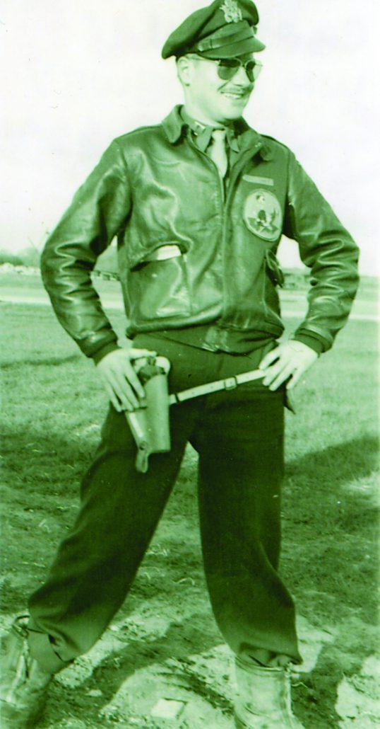 U.S. Air Force Captain William Bill Dewey World War II WWII Liberator bomber pilot Linda Alice Dewey The Betsie Current newspaper Kassel Mission