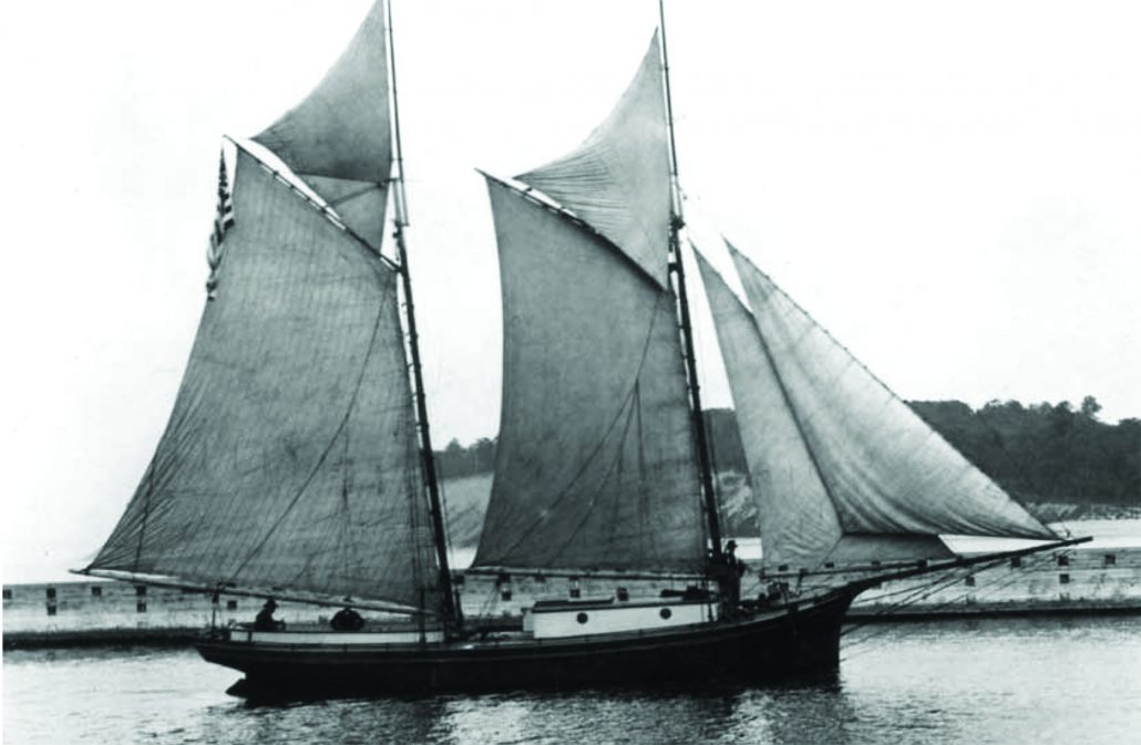 Pirate Dan Seavey Wanderer schooner floating brothel Lake Michigan port towns Historical Collections of the Great Lakes Bowling Green State university Richard. J. Boyd The betsie Current newspaper Great Lakes history