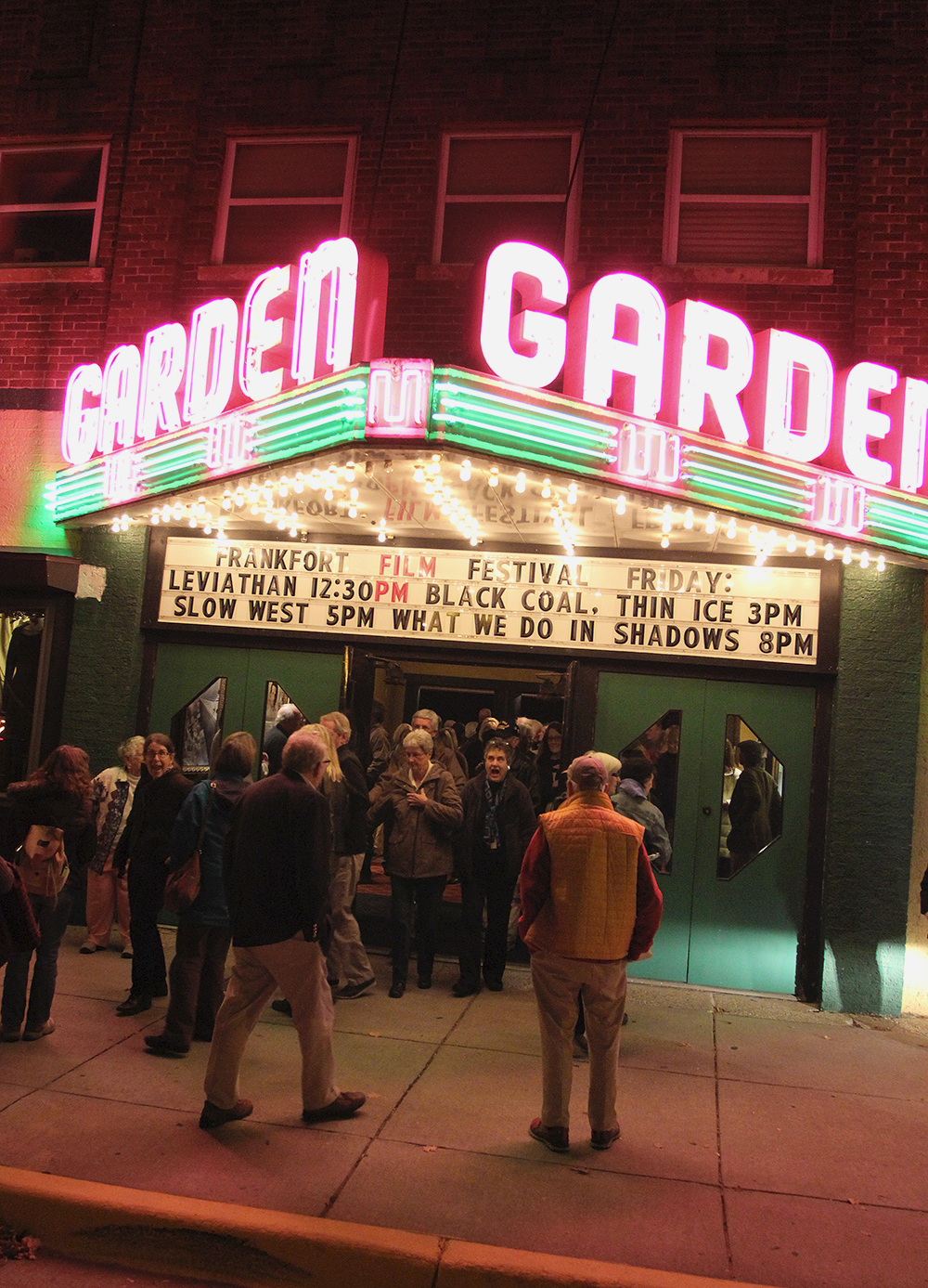 Frankfort Film Festival 2015 Garden Theater Frankfort MIchigan Aubrey Ann Parker photography