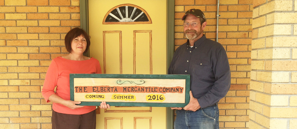 Elberta Mercantile: Everything Old Is New Again