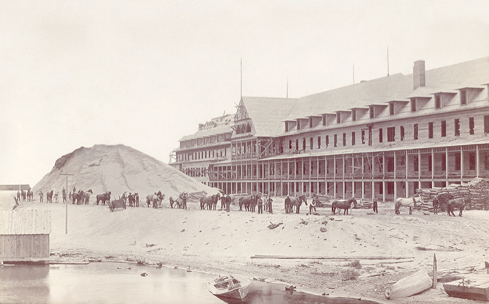 Royal Frontenac Hotel The Betsie Current Benzie County Michigan Frankfort Benzie Area Historical Society Jed Jaworski