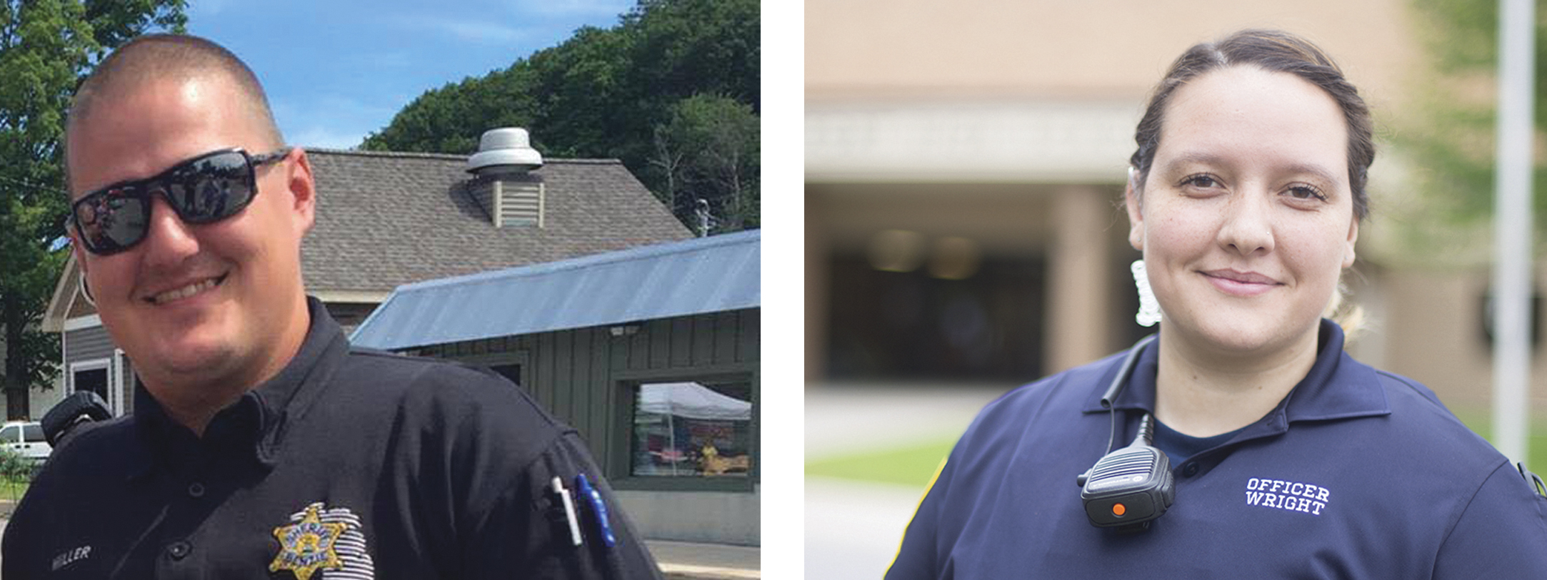 Q&A: Geoff Miller and Tiffany Wright Are School Resource Officers (SROs) at Benzie and Frankfort Schools