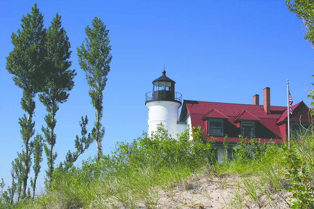 Point Betsie Lighthouse Illuminates Still