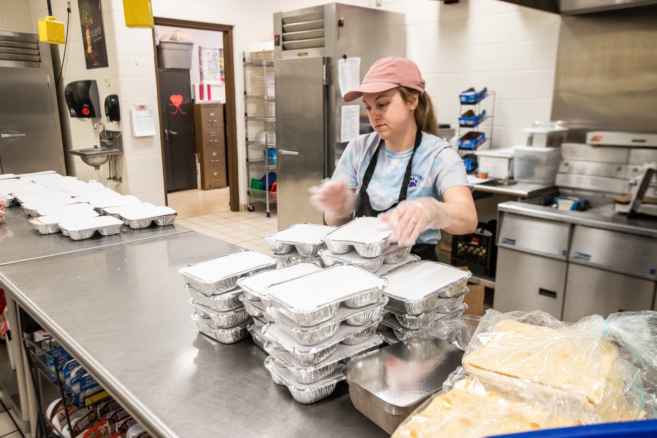 Photo Essay: Benzie and Frankfort Schools Deliver Meals During COVID-19 Closure