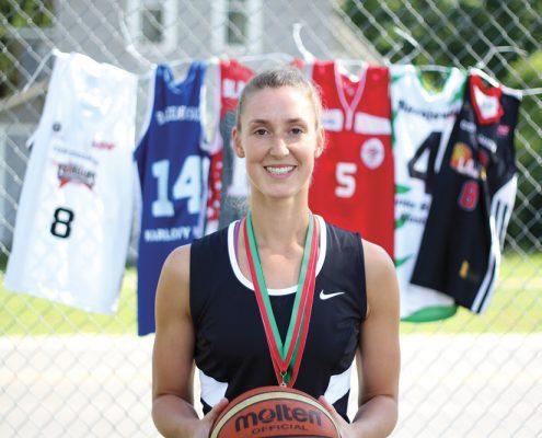 Maria Blazejewski Basketball Pro Womens international basketball professional basketball player The Betsie Current Benzie County Lady Lajas Puerto Rico