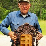 Doug Joy is so much more than a 94-year-old chair repairman in Beulah. Photo courtesy of Beau Vallance.