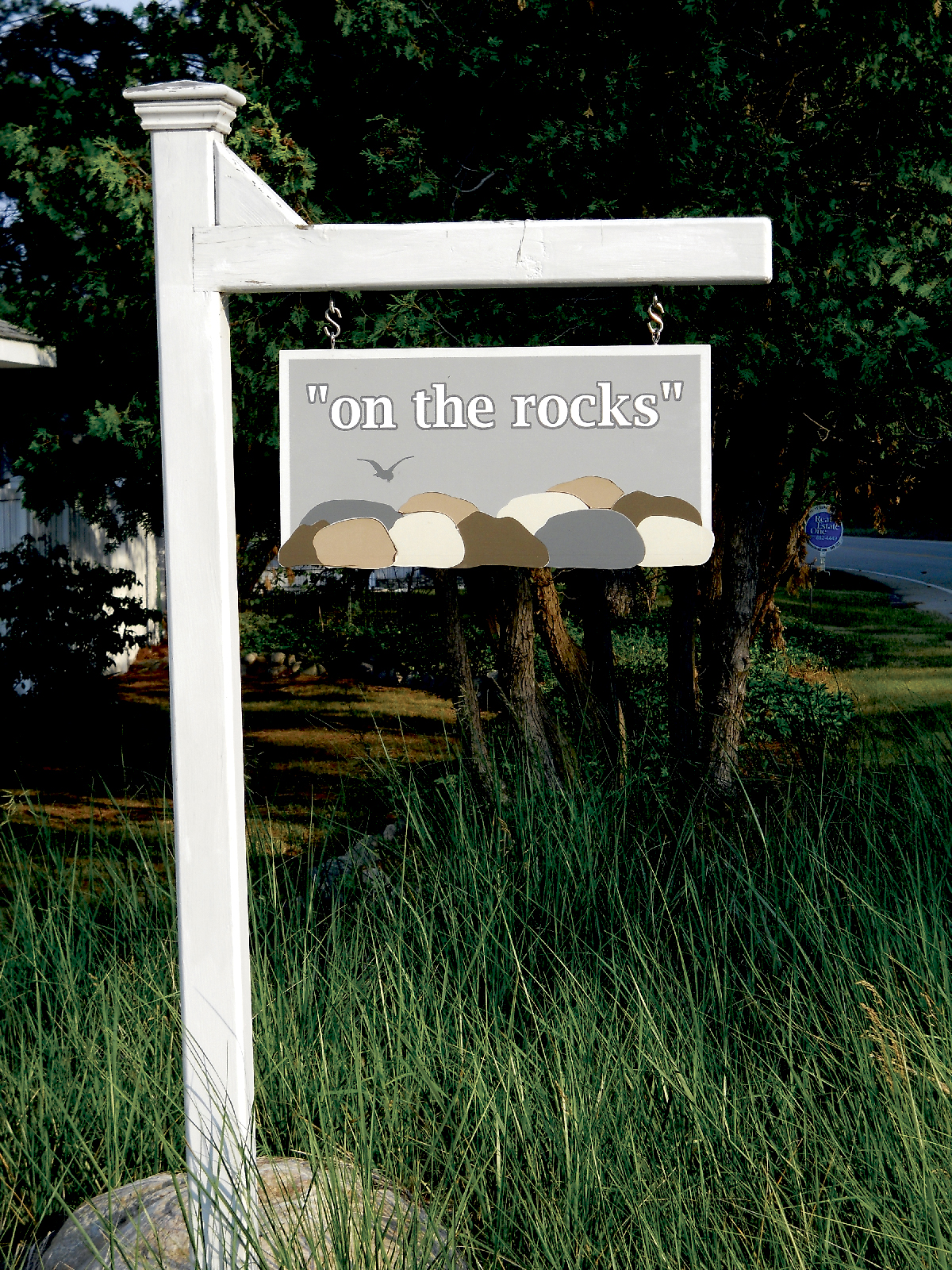A sampling of signs for cottages. Photos courtesy of