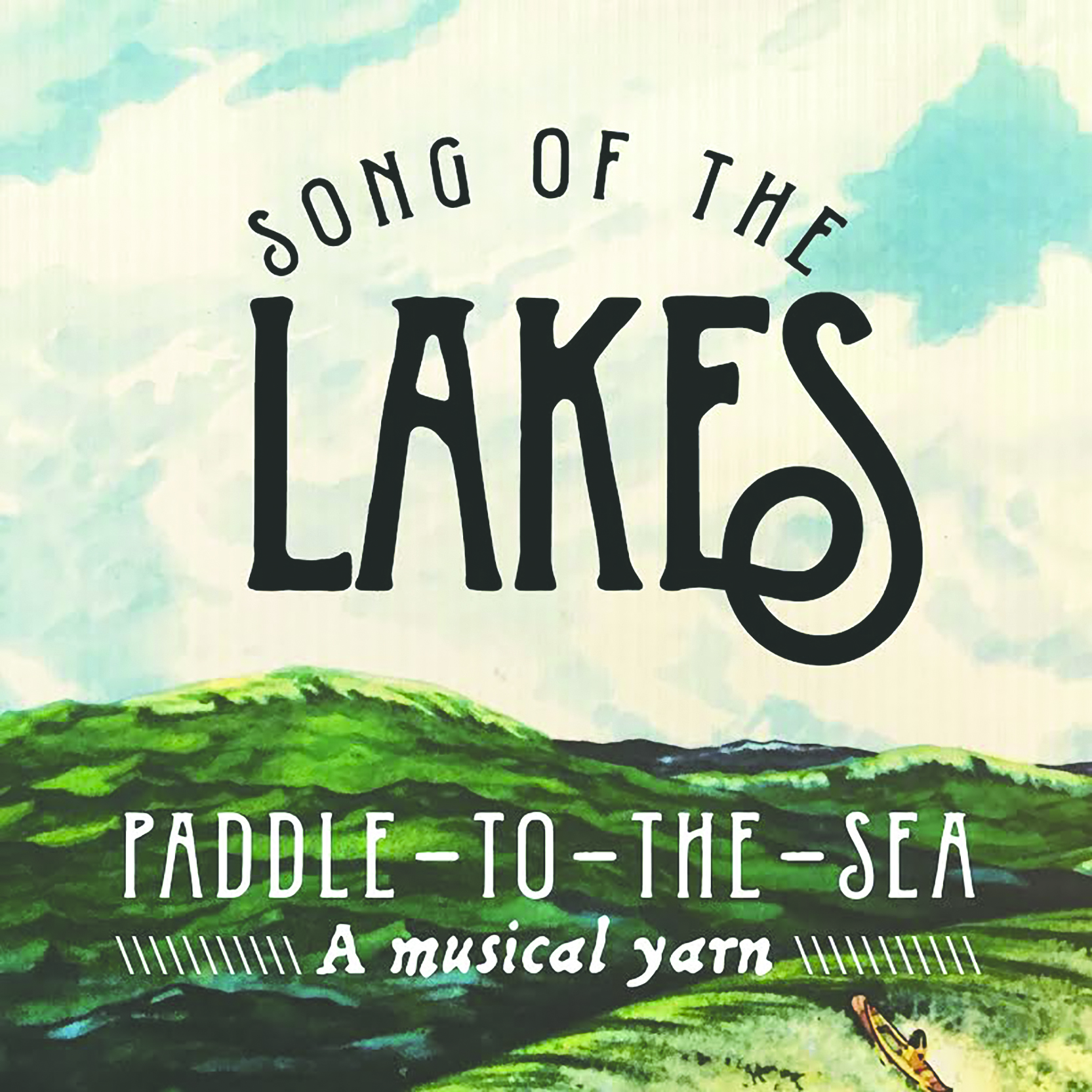 Paddle-to-the-Sea, a musical yarn released. Image courtesy of Song of the Lakes.