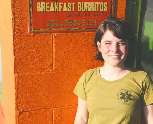 Bailey Barnes Elberto's Taqueria Elberta Michigan Crystal Lake Catering NOLS gap year The Betsie Current