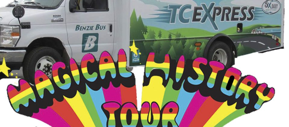 Benzie Bus Magical History Tour Benzie County tours Bill Kennis Mitch Kennis The Betsie Current