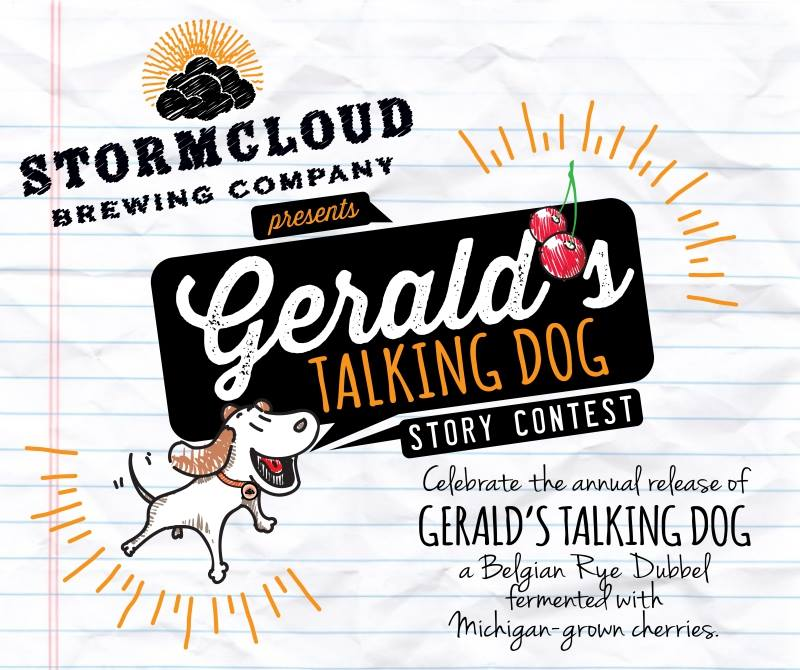 Gerald's Talking Dog Essay Contest 2016: Third Place
