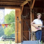 Liv Buzzell playing at the Isacc Julian Legacy fundraiser. Photo by Aubrey Ann Parker.