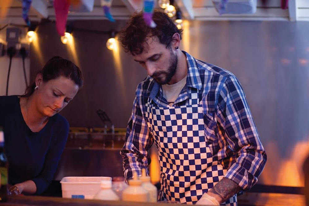 Q&A: Joelle Louisignau-Dunne & Toby Dunne Serve Muy Loco Tacos