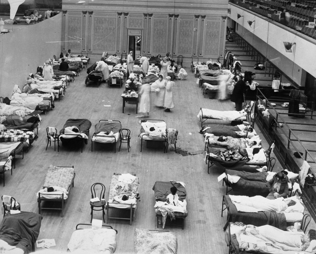 Comparing COVID-19 and the 1918 Flu Pandemic