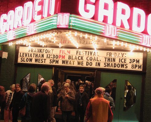 Garden Theater Frankfort Michigan Frankfort Film Festival Aubrey Ann Parker Photographer The Betsie Current