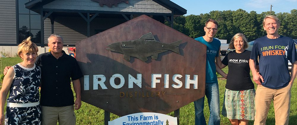 Iron Fish Distillery Thompsonville Michigan Richard and Sarah Anderson Dan Krolczyk David Wallace and Heidi Bolger The Betsie Current Jacob Wheeler