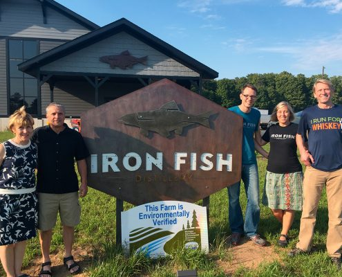 Iron Fish Distillery Thompsonville Michigan Richard and Sarah Anderson Dan Krolczyk David Wallace and Heidi Bolger The Betsie Current Jacob Wheeler
